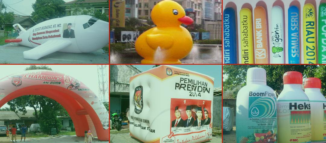 Balon Promosi, Balon Permainan, Balon Tepuk, Balon Supporter